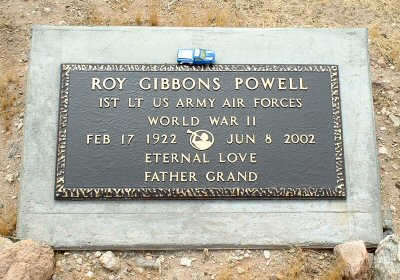 POWELL, ROY GIBBONS - Graham County, Arizona | ROY GIBBONS POWELL - Arizona Gravestone Photos