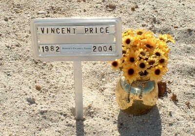 PRICE, VINCENT - Graham County, Arizona | VINCENT PRICE - Arizona Gravestone Photos