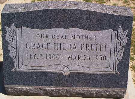 PRUITT, GRACE HILDA - Graham County, Arizona | GRACE HILDA PRUITT - Arizona Gravestone Photos