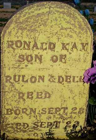 REED, RONALD KAY - Graham County, Arizona | RONALD KAY REED - Arizona Gravestone Photos