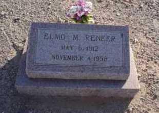 RENEER, ELMO MALCOM - Graham County, Arizona | ELMO MALCOM RENEER - Arizona Gravestone Photos