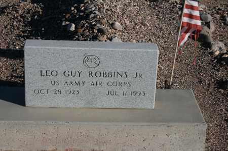 ROBBINS, LEO GUY - Graham County, Arizona   LEO GUY ROBBINS - Arizona Gravestone Photos