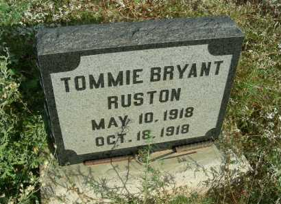 RUSTON, TOMMIE BRYANT - Graham County, Arizona | TOMMIE BRYANT RUSTON - Arizona Gravestone Photos