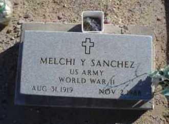 SANCHEZ, MELCHI Y. - Graham County, Arizona | MELCHI Y. SANCHEZ - Arizona Gravestone Photos
