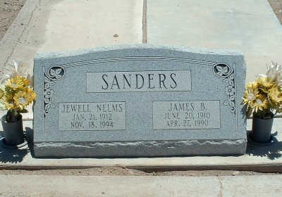 SANDERS, JAMES B. - Graham County, Arizona | JAMES B. SANDERS - Arizona Gravestone Photos
