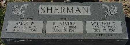 SHERMAN, WILLIAM THADDEUS (LITTLE BILL) - Graham County, Arizona | WILLIAM THADDEUS (LITTLE BILL) SHERMAN - Arizona Gravestone Photos