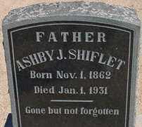 SHIFLET, ASHBY JACKSON - Graham County, Arizona | ASHBY JACKSON SHIFLET - Arizona Gravestone Photos