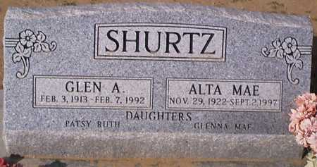 SHURTZ, ALTA MAE - Graham County, Arizona | ALTA MAE SHURTZ - Arizona Gravestone Photos