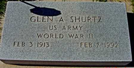 SHURTZ, GLEN - Graham County, Arizona | GLEN SHURTZ - Arizona Gravestone Photos