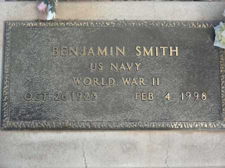 SMITH, BENJAMIN - Graham County, Arizona | BENJAMIN SMITH - Arizona Gravestone Photos
