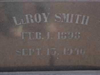 SMITH, LEROY - Graham County, Arizona   LEROY SMITH - Arizona Gravestone Photos