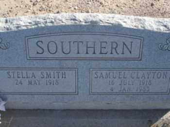 SMITH SOUTHERN, STELLA - Graham County, Arizona | STELLA SMITH SOUTHERN - Arizona Gravestone Photos