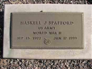 SPAFFORD, HASKELL JOHN - Graham County, Arizona | HASKELL JOHN SPAFFORD - Arizona Gravestone Photos