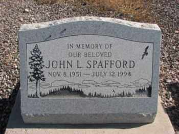 SPAFFORD, JOHN LEONARD - Graham County, Arizona   JOHN LEONARD SPAFFORD - Arizona Gravestone Photos