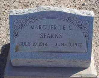 CLAWSON SPARKS, MARGUERITE - Graham County, Arizona   MARGUERITE CLAWSON SPARKS - Arizona Gravestone Photos