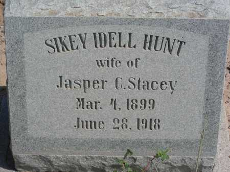 STACEY, SIKEY IDELL - Graham County, Arizona | SIKEY IDELL STACEY - Arizona Gravestone Photos