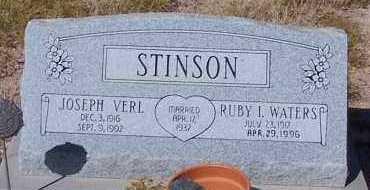 STINSON, RUBY I. - Graham County, Arizona | RUBY I. STINSON - Arizona Gravestone Photos