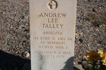 TALLEY, ANDREW LEE - Graham County, Arizona | ANDREW LEE TALLEY - Arizona Gravestone Photos