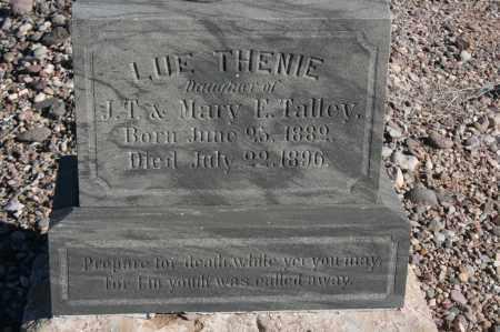 TALLEY, LUE THENIE - Graham County, Arizona | LUE THENIE TALLEY - Arizona Gravestone Photos