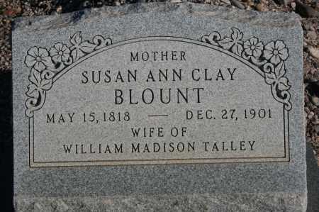 BLOUNT, SUSAN ANN CLAY - Graham County, Arizona | SUSAN ANN CLAY BLOUNT - Arizona Gravestone Photos