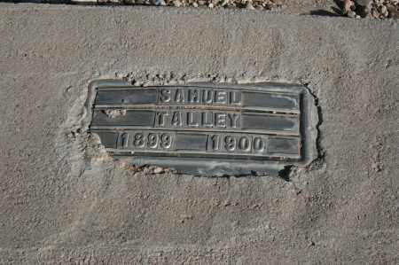 TALLEY, SAMUEL - Graham County, Arizona | SAMUEL TALLEY - Arizona Gravestone Photos