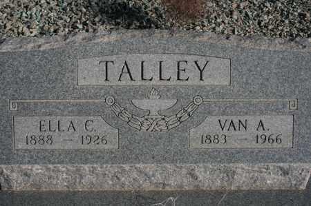 TALLEY, ELLA C. - Graham County, Arizona | ELLA C. TALLEY - Arizona Gravestone Photos