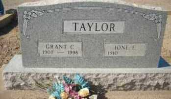 TAYLOR, GRANT CARDON - Graham County, Arizona | GRANT CARDON TAYLOR - Arizona Gravestone Photos