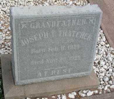 THATCHER, JOSEPH T - Graham County, Arizona   JOSEPH T THATCHER - Arizona Gravestone Photos