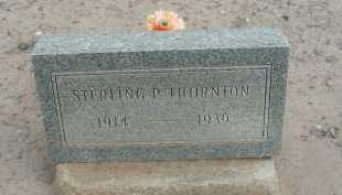 THORNTON, STERLING P - Graham County, Arizona   STERLING P THORNTON - Arizona Gravestone Photos