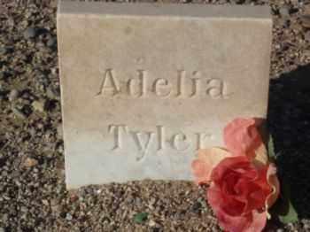 TYLER, MARY ADELIA - Graham County, Arizona | MARY ADELIA TYLER - Arizona Gravestone Photos