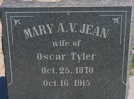 TYLER, MARY ANN VIRGINIA (JENNIE) - Graham County, Arizona | MARY ANN VIRGINIA (JENNIE) TYLER - Arizona Gravestone Photos