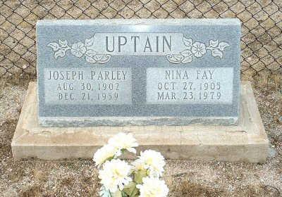 UPTAIN, NINA FAY - Graham County, Arizona | NINA FAY UPTAIN - Arizona Gravestone Photos