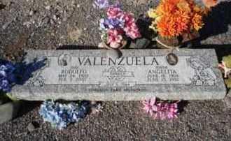 VALENZUELA, RODOLFO - Graham County, Arizona | RODOLFO VALENZUELA - Arizona Gravestone Photos