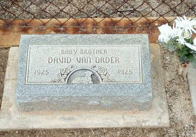 VAN ORDER, DAVID - Graham County, Arizona | DAVID VAN ORDER - Arizona Gravestone Photos