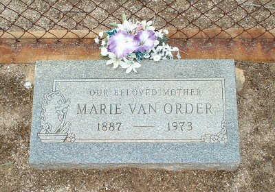 VAN ORDER, MARIE - Graham County, Arizona | MARIE VAN ORDER - Arizona Gravestone Photos