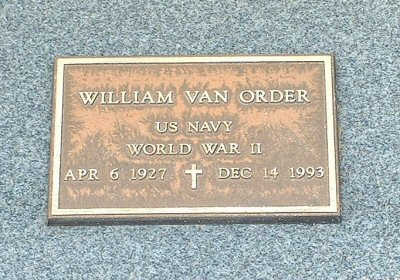 VAN ORDER, WILLIAM - Graham County, Arizona | WILLIAM VAN ORDER - Arizona Gravestone Photos