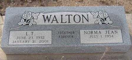 WALTON, NORMA JEAN - Graham County, Arizona | NORMA JEAN WALTON - Arizona Gravestone Photos