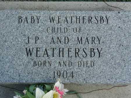 WEATHERSBY, BABY - Graham County, Arizona | BABY WEATHERSBY - Arizona Gravestone Photos