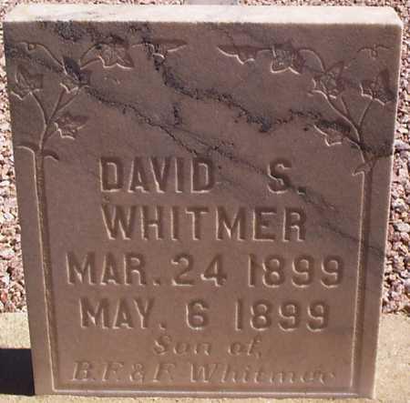 WHITMER, DAVID S. - Graham County, Arizona | DAVID S. WHITMER - Arizona Gravestone Photos