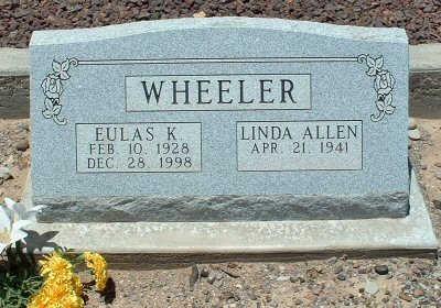 ALLEN WHEELER, LINDA - Graham County, Arizona | LINDA ALLEN WHEELER - Arizona Gravestone Photos