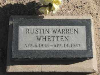 WHETTEN, RUSTIN WARREN - Graham County, Arizona | RUSTIN WARREN WHETTEN - Arizona Gravestone Photos