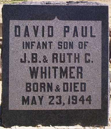 WHITMER, DAVID PAUL - Graham County, Arizona | DAVID PAUL WHITMER - Arizona Gravestone Photos