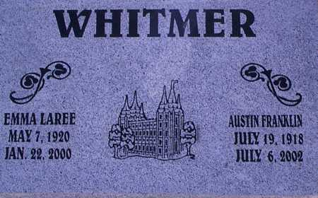 WHITBY WHITMER, EMMA LAREE - Graham County, Arizona   EMMA LAREE WHITBY WHITMER - Arizona Gravestone Photos