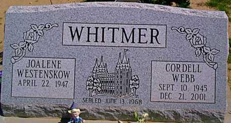 WHITMER, JOALENE - Graham County, Arizona | JOALENE WHITMER - Arizona Gravestone Photos
