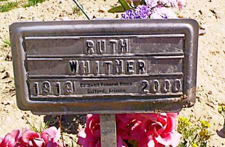 WHITMER, RUTH AVILDA - Graham County, Arizona | RUTH AVILDA WHITMER - Arizona Gravestone Photos