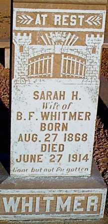 WIBBERLEY WHITMER, SARAH HANNAH - Graham County, Arizona | SARAH HANNAH WIBBERLEY WHITMER - Arizona Gravestone Photos