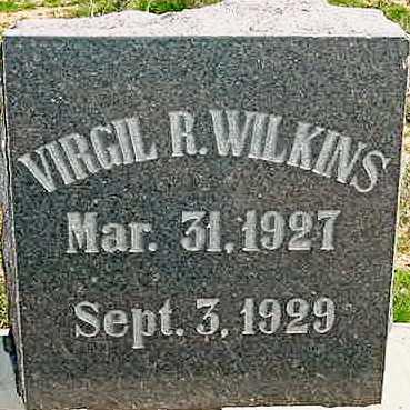 WILKINS, VIRGIL R. - Graham County, Arizona | VIRGIL R. WILKINS - Arizona Gravestone Photos