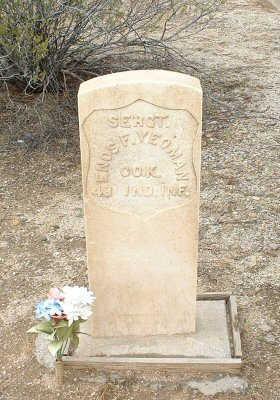 YEOMAN, ENOS F. - Graham County, Arizona   ENOS F. YEOMAN - Arizona Gravestone Photos