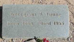 YOUNG, GEORGEAN ANN - Graham County, Arizona | GEORGEAN ANN YOUNG - Arizona Gravestone Photos