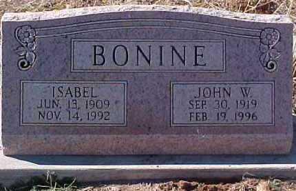 BONINE, JOHN WARREN - Greenlee County, Arizona | JOHN WARREN BONINE - Arizona Gravestone Photos